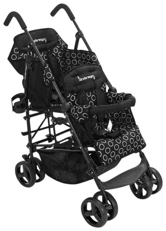 Kinderwagon Hop Tandem Stroller - Black - 1 ct.