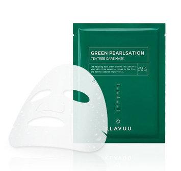 KLAVUU Green Pearlsation Teatree Care Mask