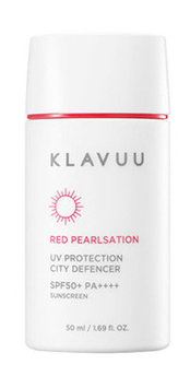 KLAVUU Red Pearlsation UV Protection City Defencer SPF50+ PA++++