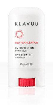 KLAVUU Red Pearlsation Uv Protection Sun Stick SPF 50+ Pa++++