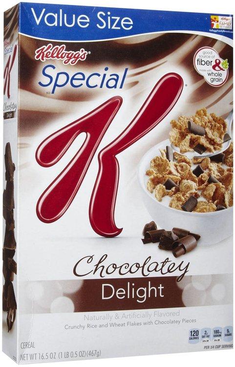 Kellogg's Special K Special K Cereal - Chocolatey Delight - 16.5 oz - 1 ct.