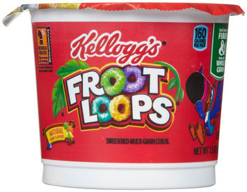 Kellogg's Froot Loops Cereal-in-a-Cup, 12 ct