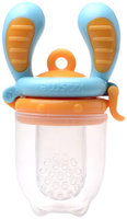 Kidsme Food Feeder - Blue/Orange - Small - 4+ Months