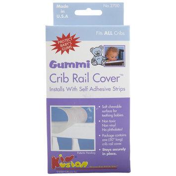Kid Kusion Gummi Crib Rail - Frosty Clear