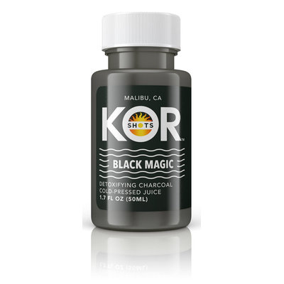KOR Shots Black Magic Charcoal Juice