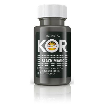 KOR Shots Black Magic Charcoal Juice
