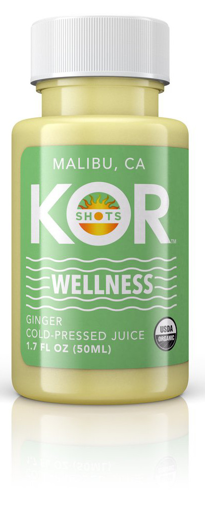 KOR Shots Wellness Ginger Juice