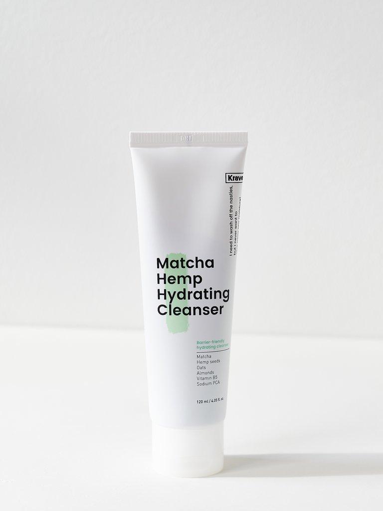 Krave Beauty Matcha Hemp Hydrating Cleanser