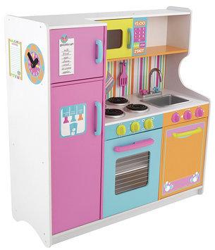 KidKraft 53100 Deluxe Big and Bright Kitchen - Kidkraft