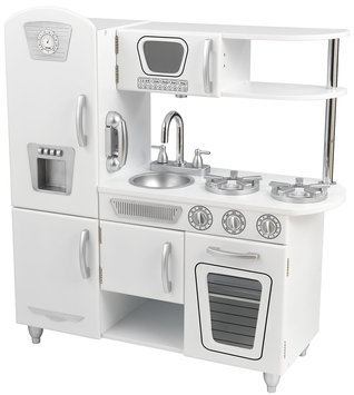 KidKraft White Vintage Kitchen Play Set 53208
