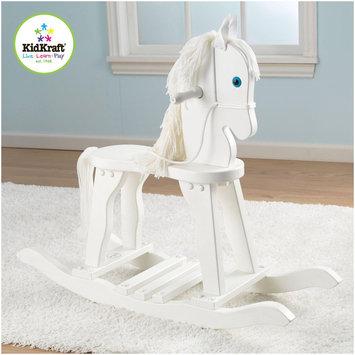 KidKraft Heirloom Derby Wooden Rocking Horse - White