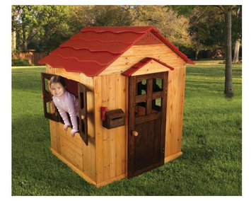 KidKraft 176 Outdoor Wood Playhouse for Kids