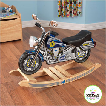 KidKraft Police Rockin Motorcycle