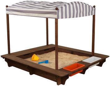 Kidkraft Gray Outdoor Sandbox & Canopy