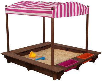 Cabana Sandbox - Pink & White Stripes - KidKraft 00508