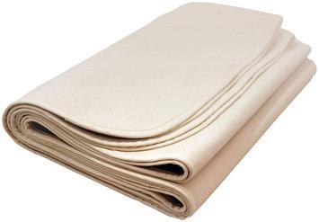 Naturalmat Natural Mat Organic Flannelette Crib Mattress Protector