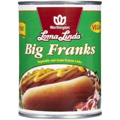 Loma Linda Low Fat Big Franks, 20 oz
