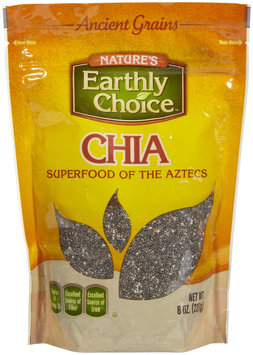 Natures Earthly Choice Chia Seeds, 8 oz