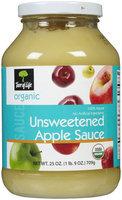 Tree of Life Organic Applesauce, Unsweetened - 1 ct.