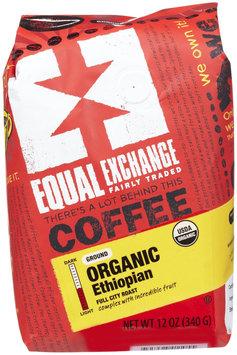 Equal Exchange Organic Ethiopian Drip Coffee, 12 oz