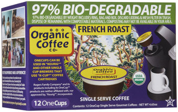 Organic Coffee Co. The Organic Coffee Co K-Cups French Roast 12 K-Cups