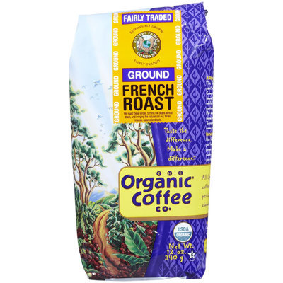 Organic Coffee Organic French Roast Coffee, 12 oz