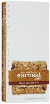 Earnest Eats Chocolate Peanut Butter Baked Bars, 1.9 oz, 12 ct