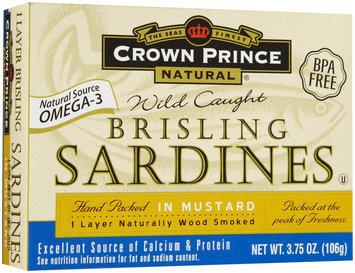 Crown Prince Sardines In Mustard Sauce, 3.75 oz