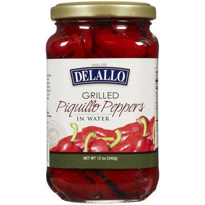Delallo Grilled Piquillo Pepper, 12 oz
