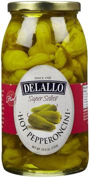Delallo Hot Pepperoncini, 25.5 oz