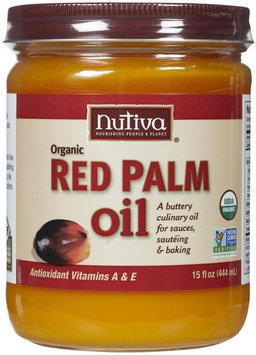 Nutiva - Organic Red Palm Oil - 15 oz.