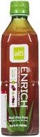 Alo Aloe Vera Pomegranate Cranberry Drink, 16.9 oz, 12 ct