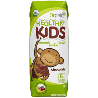 Orgain Healthy Kids Organic Nutritional Shake Chocolate 12 Shakes
