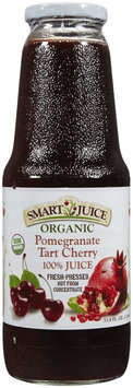 Smart Juice Organic Pomegranate Tart Cherry Juice, 33.8 oz