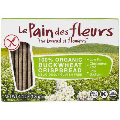 Le Pain des fleurs Crispbread Buckwheat Gluten Free - 4.41 oz