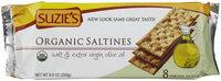 Suzies Suzie's Organic Salted Crackers, 8.8 oz