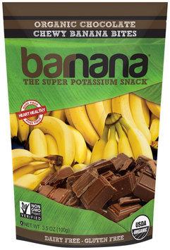 Barnana Chewy Banana Bites Organic Chocolate