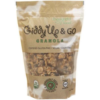 Giddy Up & Go Granola Organic Gluten Free Seriously Seedy - 11 oz - Vegan