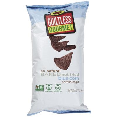 GUILTLESS GOURMET Organic Blue Tortilla Chip 17 OZ
