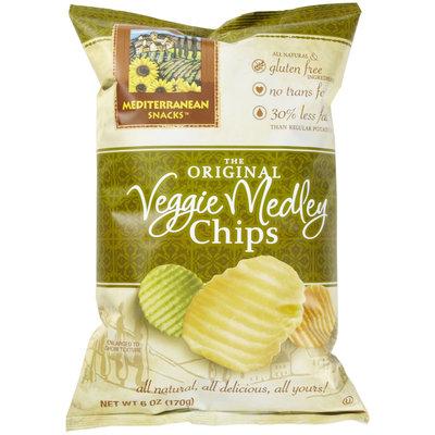 Mediterranean Snacks Original Veggie Medley Chips, 6 oz