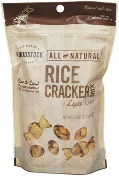 Woodstock Farms Rice Cracker Mix - 6 oz