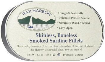 Bar Harbor Smoked Sardine Fillet, 6 oz