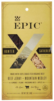 Epic Nutrition Grass Fed Beef Jerky Mountain Medley 3 oz