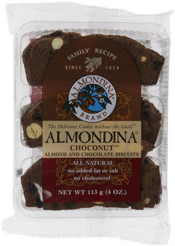 Almondina Biscuits Choconut Almond and Chocolate - 4 oz