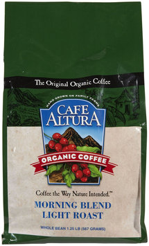 Cafe Altura Morning Blend Organic Coffee, 1.25 lb