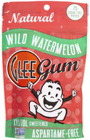 Glee Gum Natural Xylitol Sweetened Wild Watermelon 75 Sugar-Free Pieces