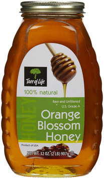 Tree of Life Raw Honey - Orange - 2 lb