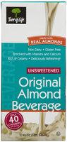 Tree Of Life Unsweetened Original Almond Beverage, 32 fl oz