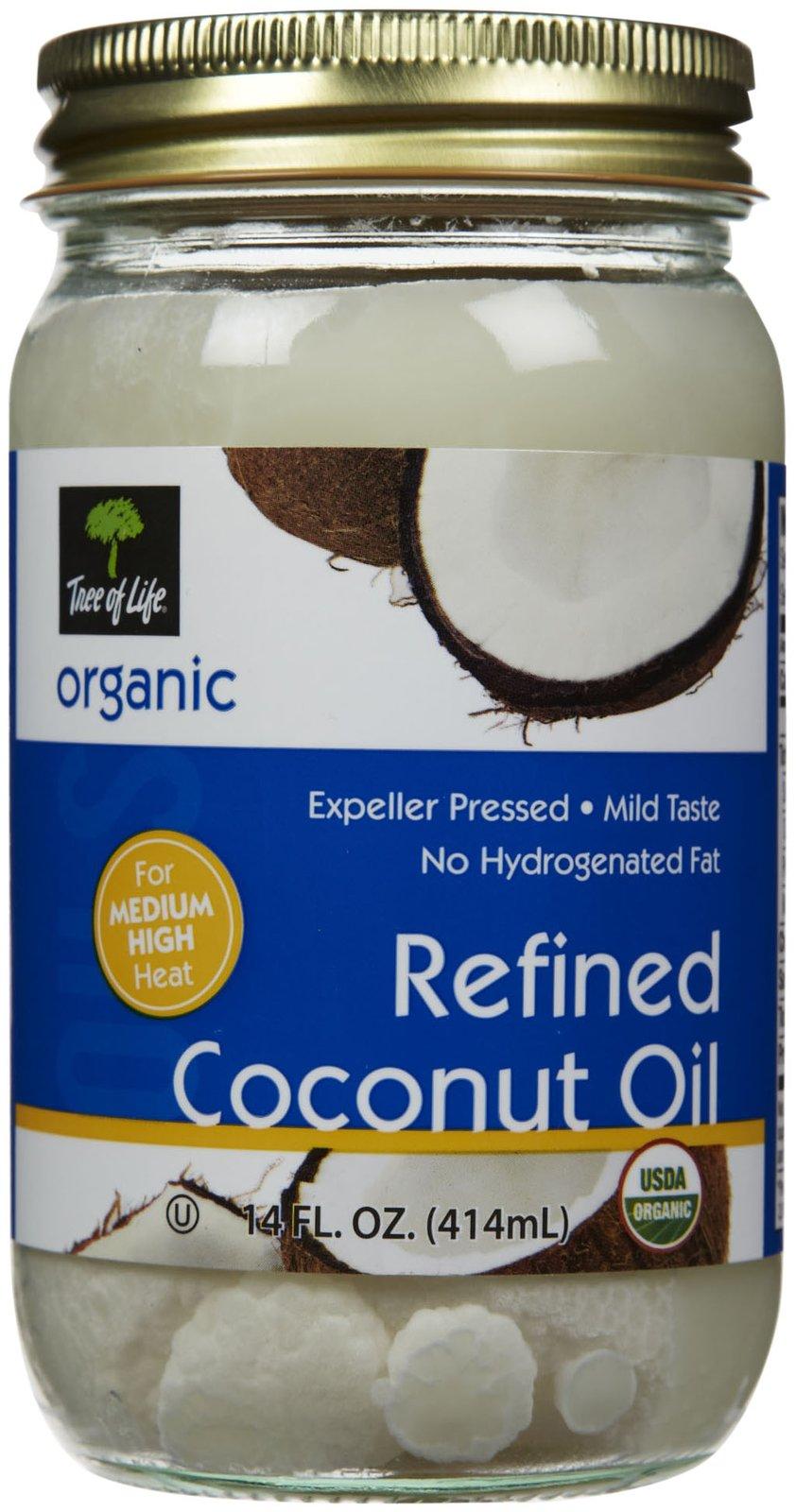 Tree Of Life Organic Coconut Oil, 14 oz
