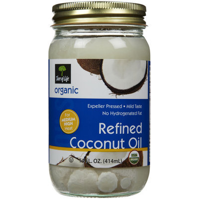 Tree Of Life Organic Coconut Oil, 14 oz